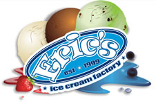 Eric's Ice Cream Logo